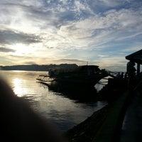 Photo taken at Pantalan (Daram W. Samar) by Mark T. on 7/4/2013