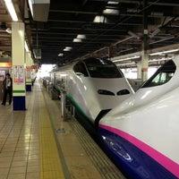 Photo taken at Tohoku Shinkansen Omiya Sta. by 小杉 治. on 3/17/2013