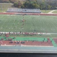 Photo taken at Veterans Memorial Stadium by Glenn C. on 10/14/2012