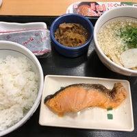 Photo taken at なか卯 広島大手町店 by Katsumasa I. on 4/17/2017