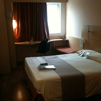Photo taken at ibis Hotel by Adriano G. on 1/24/2013