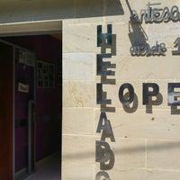 Photo taken at Heladeria Lopez by LaZoida .. on 6/11/2016