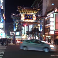 Photo taken at Yokohama Chinatown by Takeshi K. on 12/9/2012