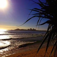 Photo taken at Mooloolaba Beach by Rental Express Property Management on 3/30/2013