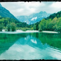 Photo taken at Jezero Jasna by Damjan P. on 5/5/2013