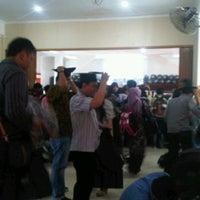 Photo taken at Gedung Dharma Wanita ITS by Abitya R. on 9/19/2012
