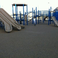 Photo taken at JFK Boulevard Bay Park Playground by Marlon M. on 10/14/2012