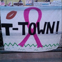 Photo taken at Tustin High School Football Stadium by Erin B. on 10/6/2012