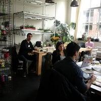 Photo taken at The Hub Amsterdam by Sebastiaan H. on 5/26/2013