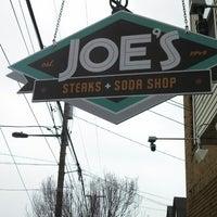 Photo taken at Joe's Steaks + Soda Shop by Charles T. on 3/25/2014