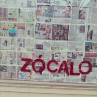 Photo taken at Zocalo by Charles T. on 2/28/2013