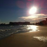 Photo taken at Postiguet Beach by Joe c. on 1/19/2013