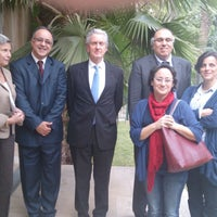 Photo taken at Ambassade de France by Souhail A. on 4/22/2013