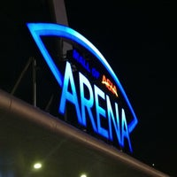 Photo taken at Mall of Asia Arena by Oneida P. on 11/30/2012
