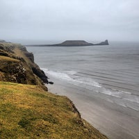 Photo taken at Worm's Head by Max R. on 4/13/2013