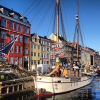 Photo taken at Nyhavnsbroen by Max R. on 7/9/2013