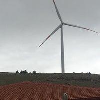 Photo taken at Güriş Holding 115 MW Dinar Rüzgar Enerji Santralı by Umut A. on 5/9/2017