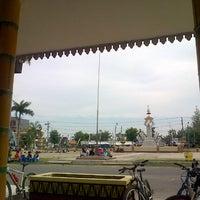 Photo taken at Pendopo Pringsewu by Tania I. on 3/10/2013