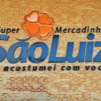 Photo taken at Mercadinhos São Luiz by Haroldo F. on 10/13/2012