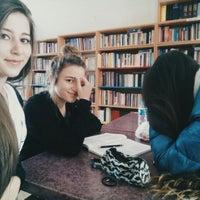 Photo taken at Soma Halk Kütüphanesi by Zekiye B. on 3/10/2016