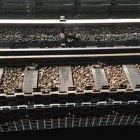 Photo taken at Khatib MRT Station (NS14) by Ryz L. on 7/6/2013