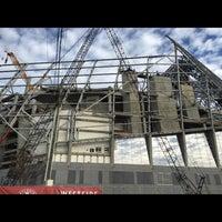 Foto tirada no(a) Mercedes-Benz Stadium por Kelly C. em 7/3/2016