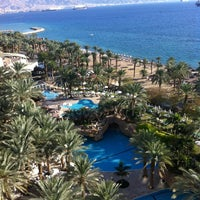 Photo taken at Royal Beach Eilat by Hagit H. on 12/19/2012