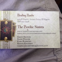 Photo taken at Healing Hands Metaphysical Store by Danielle L. on 10/6/2013