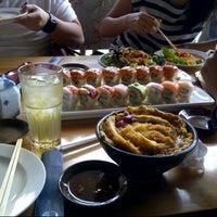 Photo taken at Kiyadon Sushi by Robert D. on 1/24/2013
