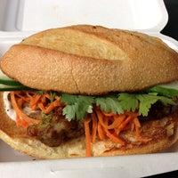 Photo taken at Num Pang Sandwich Shop by Brad L. on 10/17/2012