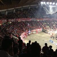 Photo taken at SEF - Peace & Friendship Stadium by Thymios V. on 4/26/2013