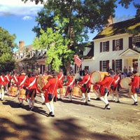 Photo taken at Colonial Williamsburg by Susie E. on 6/15/2013
