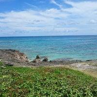 Photo taken at Nagamahama Beach by たかゆき く. on 7/22/2017
