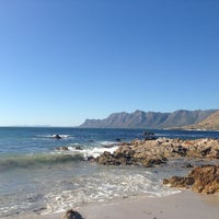 Photo taken at Rooi Els Beach by Suné V. on 3/10/2013