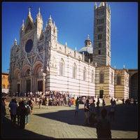 Photo taken at Duomo di Siena by Eliel C. on 8/18/2013