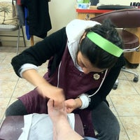 Photo taken at Family Nails by Pamala Y on 3/26/2013