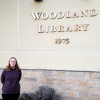 Photo taken at Woodland Branch Library by Richard F. on 1/5/2015