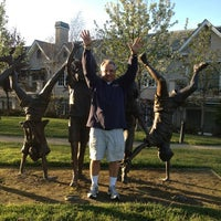 Photo taken at Los Altos Village Park by Richard F. on 3/25/2013