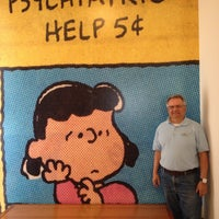 Photo taken at Charles M. Schulz Museum & Research Center by Richard F. on 5/11/2013