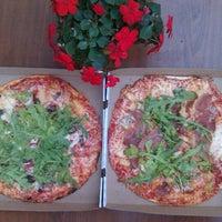 Photo taken at Steffani Pizzarestoran by Alena K. on 9/21/2013