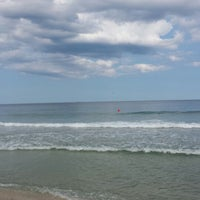 Photo taken at Mantoloking Beach by Jarret S. on 7/29/2014