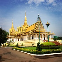 Photo taken at Royal Palace, Phnom Penh by Pp O. on 4/22/2013
