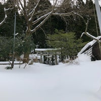 Photo taken at 宇奈月神社 by Youki S. on 1/28/2018