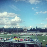 Photo taken at WRAL Soccer Center by Maya Z. on 7/6/2013