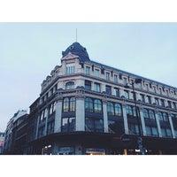 Photo taken at Rue Saint-Sauveur by Tasha🐻 on 4/20/2014