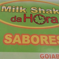 Photo taken at Milk Shake da Hora by Diego Corrêa de L. on 2/16/2013