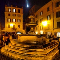 Photo taken at Piazza della Madonna dei Monti by Claudio C. on 1/26/2013