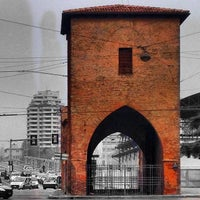 Photo taken at Ponte Mascarella by Claudio C. on 1/3/2014