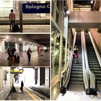 Photo taken at Stazione Bologna Centrale by Claudio C. on 6/13/2013