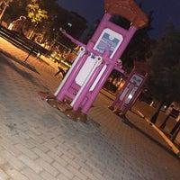 Photo taken at Şehit Fethi Parkı by Beyza B. on 9/5/2015